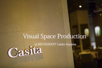 レストランカシータ青山店<br>Visual Space Production