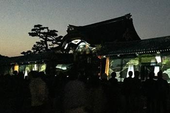二条城ライトアップ 2015 ~百花繚乱~