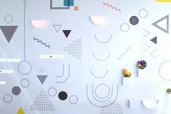 レジャー&サービス産業展2019<br>CREATIVE WALL × モーショングラフィックス