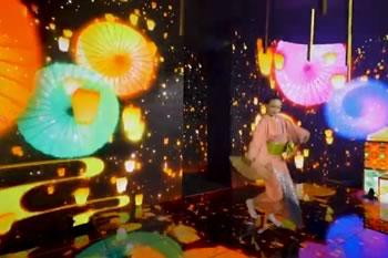 第5回先端デジタルテクノロジー展「VR × 日本舞踊 × DIGITAL STAGE」