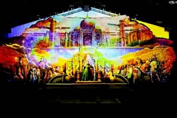 砂の美術館<br>砂と光の幻想曲(ファンタジア)THE LOVE STORY OF TAJMAHAL