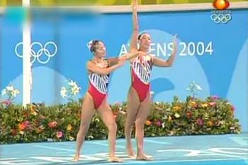 2004年 アテネ五輪<br>日本代表デュエット